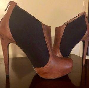 Jessica Simpson Brown/Black Boots